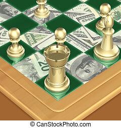 01, finanz, schach