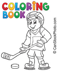 1, thema, farbton- buch, hockey