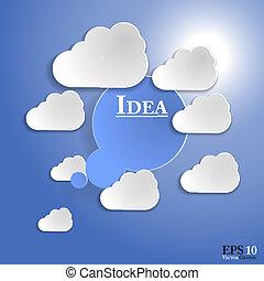 10, schicht, beschreibend, organisiert, brunnen, änderungen, eps, gedanke, namen, leicht, schnell, dokument, blase, template.