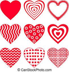 2, satz, herz, valentine