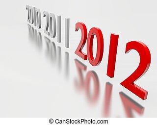 2012, jahreswechsel