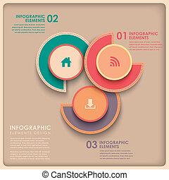 3d abstrakte Kuchendiagramm Infographics.