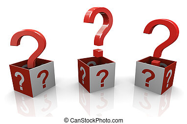 3d Fragezeichen