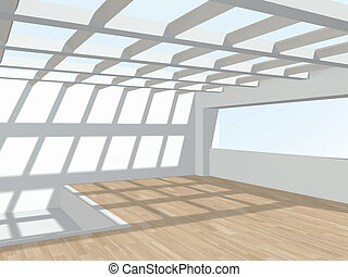 3d, interior.