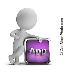 3d kleine Leute - App Icon