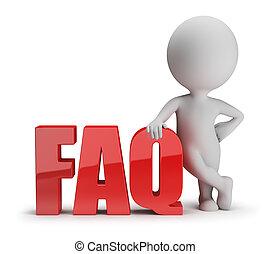 3d kleine Leute - FAQ