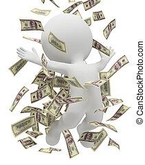 3d kleine Leute - Geldregen