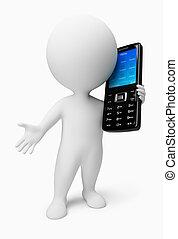 3d kleine Leute - Handy