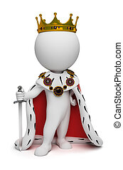 3d kleine Leute - König