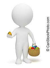 3d kleine Leute - Ostern