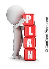 3d kleine Leute - Plan