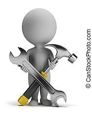 3d kleine Leute - Reparaturer
