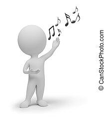 3d kleine Leute - Sänger