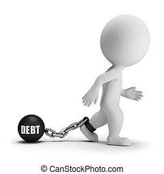 3d kleine Leute - Schulden