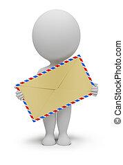 3d kleine Leute - Umschlag