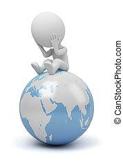 3d kleine Menschen - globale Frage