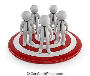 3d kleine Menschen - Lead Management.