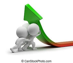 3d kleine Menschen - statistische Verbesserung