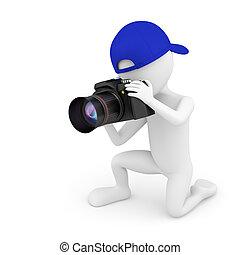 3D kleiner Fotograf.