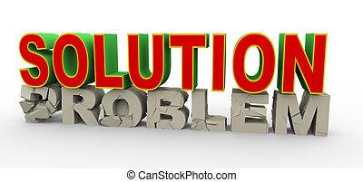 3d Lösung für Problem