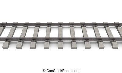 3d Schienen horizontal