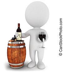 3d Weiße Weinprobe.