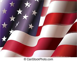4. Juli , Unabhängigkeitstag der Vereinigten Staaten von Amerika. Poster für Grafikdesigner