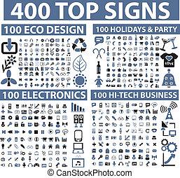 400 Top-Schilder