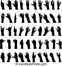 50 Hände
