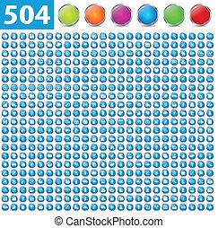 504, glänzend, heiligenbilder