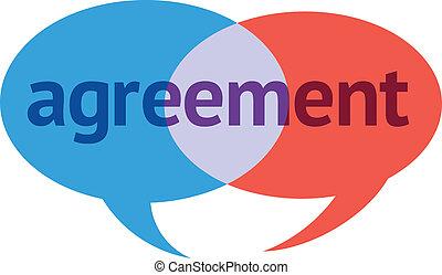 abkommen, dialog