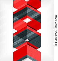 Abstract Business Geometrische Muster.