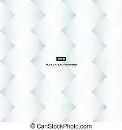 Abstract Hintergrund schwarz und weiß Quadrate Muster.