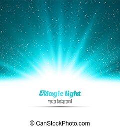 Abstract Magic Blue Light Hintergrund.