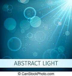 Abstract Magic Light Hintergrund.