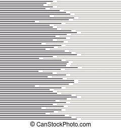 Abstract minimal Design Streifen und Line Pattern. Vector schwarz und weiß