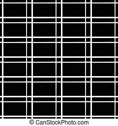 Abstract monochromer Hintergrund, Muster. Nahelos wiederholbar. Vector.