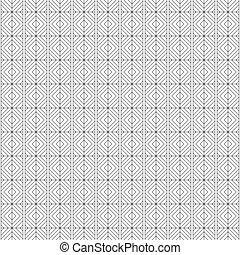 Abstract nahtlose monochrome lineare Muster, Vektorhintergrund.