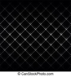 Abstract Neonlicht schwarz Textur Vektor Illustration.
