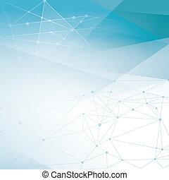 Abstract Netzwerk Hintergrund.