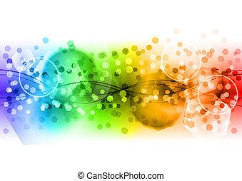 Abstract Regenbogen.