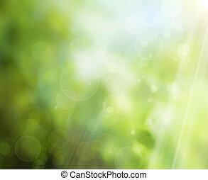 Abstract Spring Natur Hintergrund.