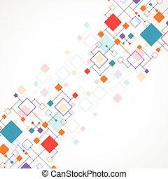 Abstract Technologie Hintergrund.