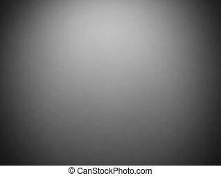 Abstract Vintage grunge dunkelgrau Hintergrund mit schwarzer Vignette Rahmen an der Grenze und Mitte Scheinwerfer.