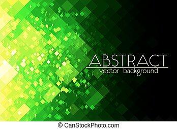 abstrakt, hell, grüner hintergrund, gitter, horizontal