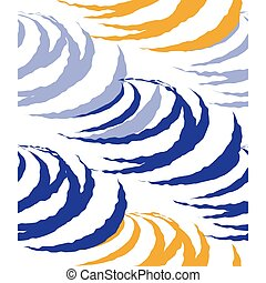 abstrakt, vektor, muster, hintergrund