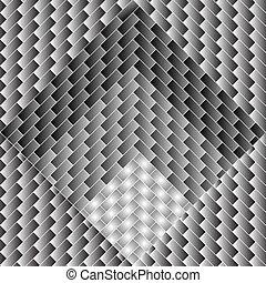 Abstrakte, degradierte Quadrate