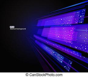 Abstraktes Leuchten von EPS10 Hintergrund