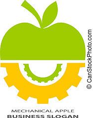 Abstraktes technisches Logo.
