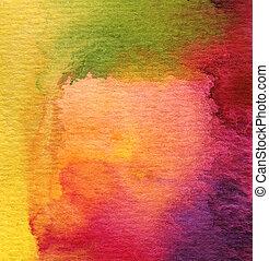 Abtrünniger Wasserfarbe malte Hintergrund